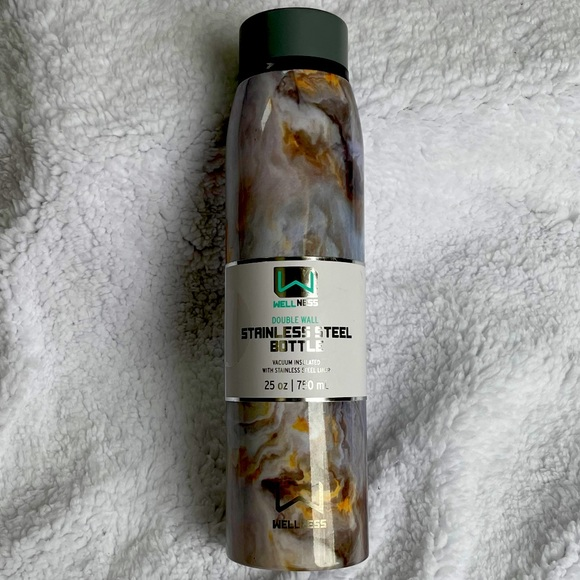 Wellness double wall stainless steel bottle